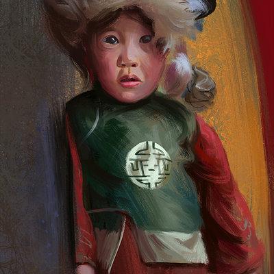Hugo puzzuoli mongol girl hpuzzuoli