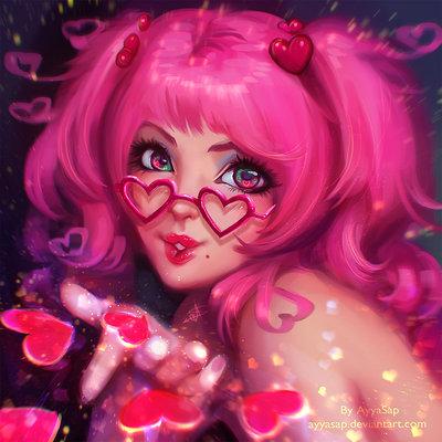 Ayya saparniyazova happy valentine s day