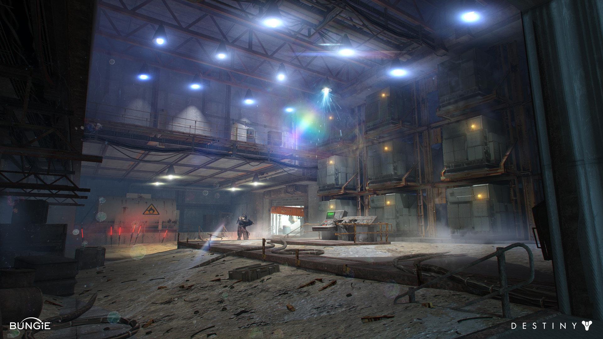 Artstation Destiny Cosmodrome Generator Room Dorje