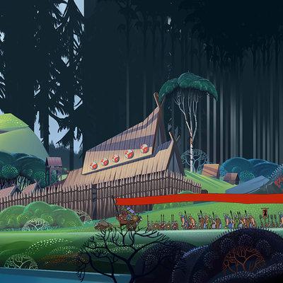Lekso tiger art test for banner saga by leksotiger d8irhmz