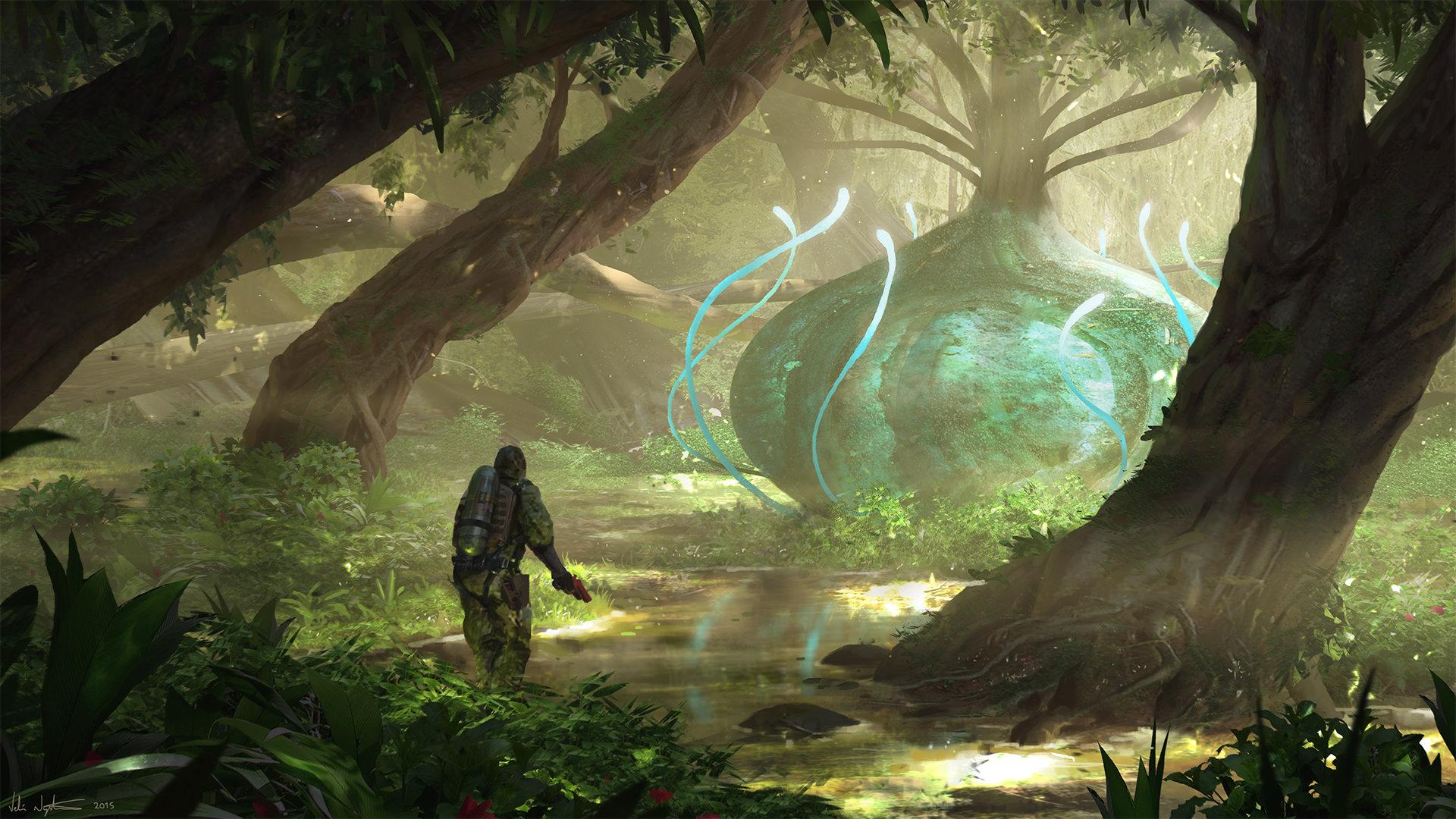 Veli nystrom forest alien plant