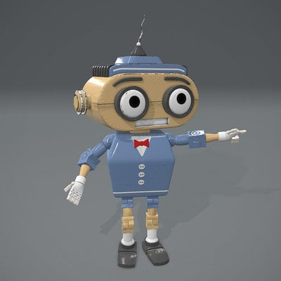Mark b tomlinson robot jan pbr render 02