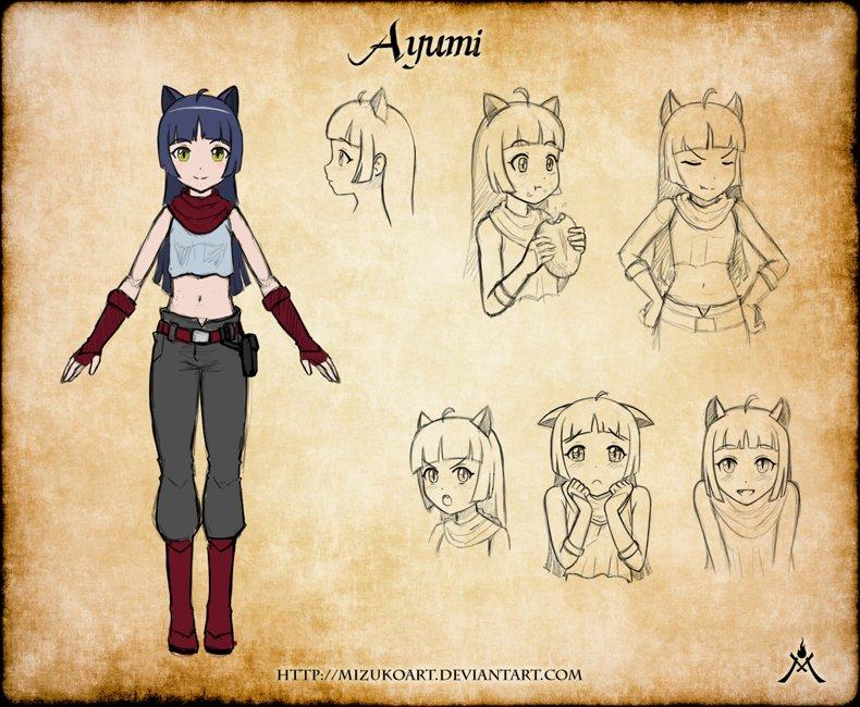 Emma salamanca ayumi conceptart