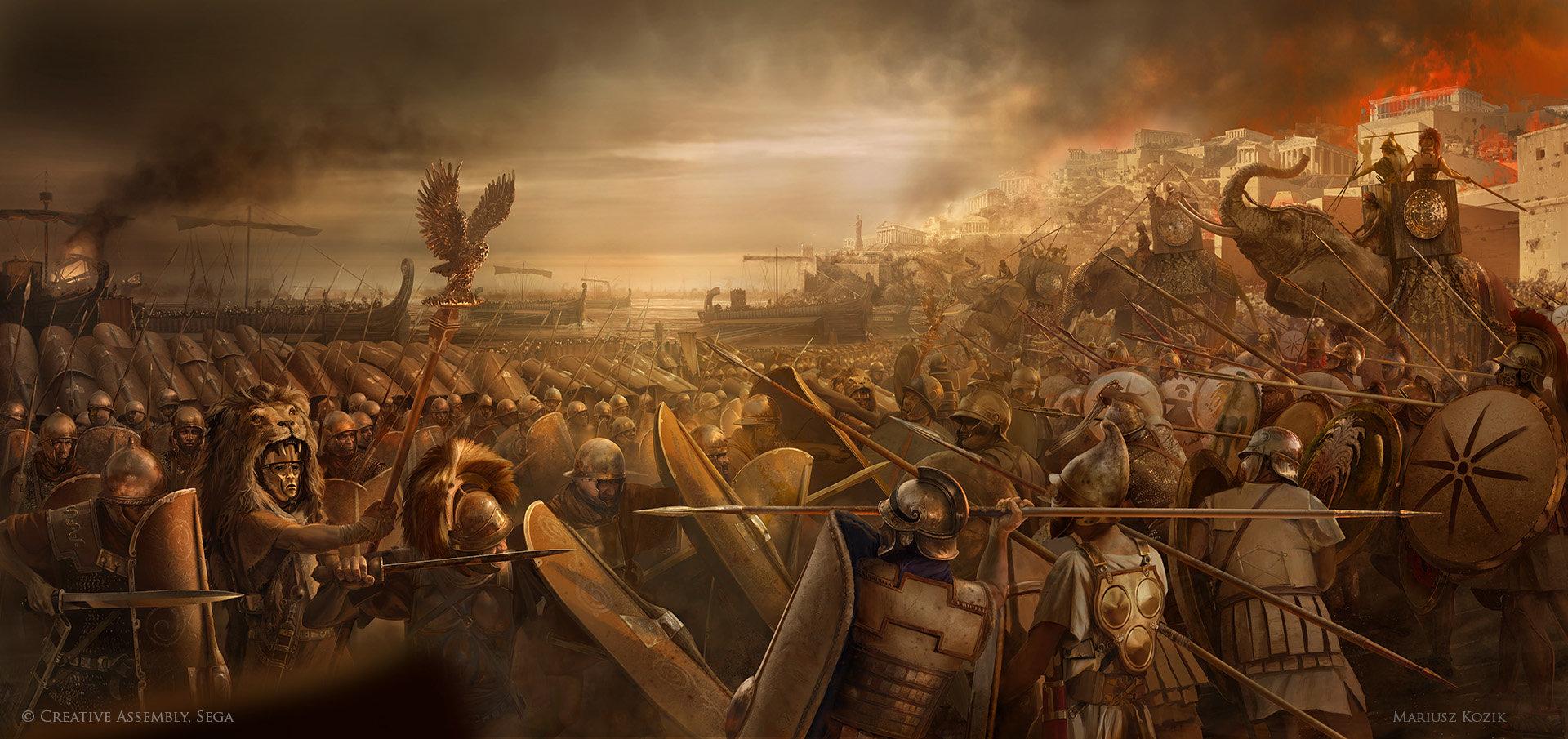 Mariusz kozik carthage panorama final scypio druk