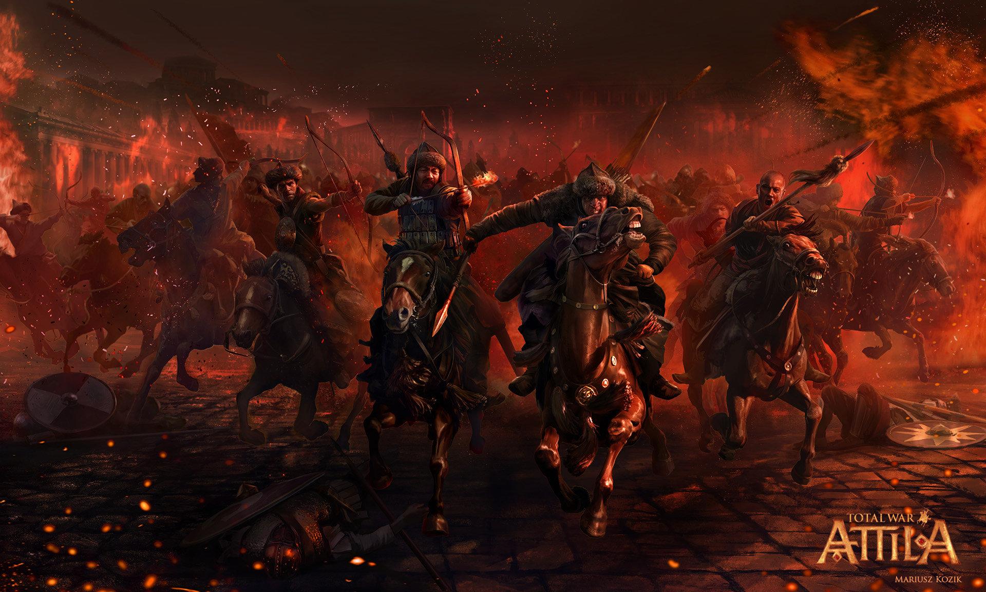 Mariusz kozik huns cavalry