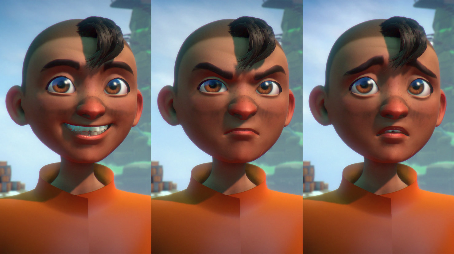Early Facial Expressions