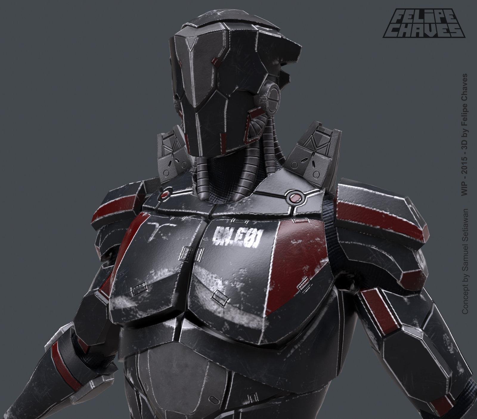 Nepher - Gladiadores de Belathron - WIP
