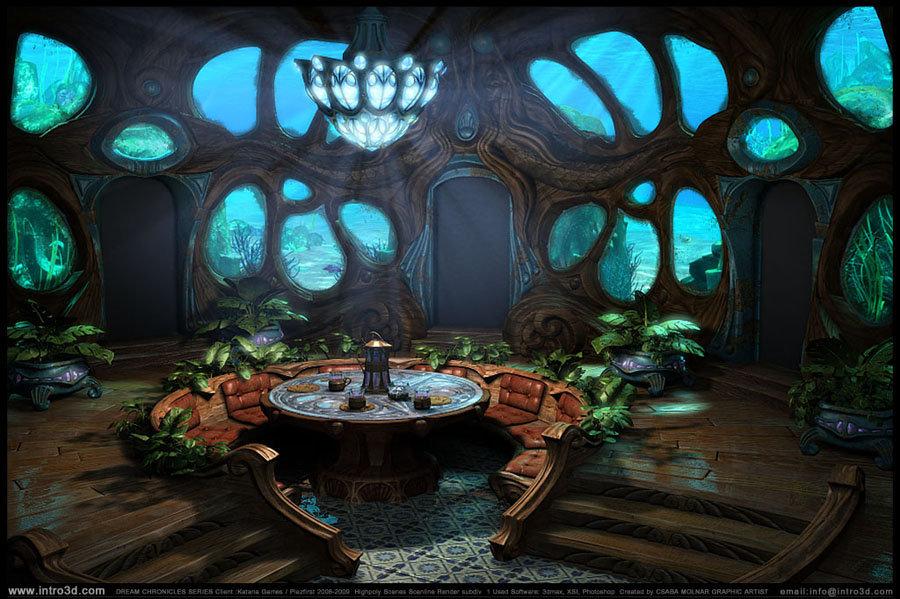ArtStation - Dream Chronicles hidden object game 2007, Csaba