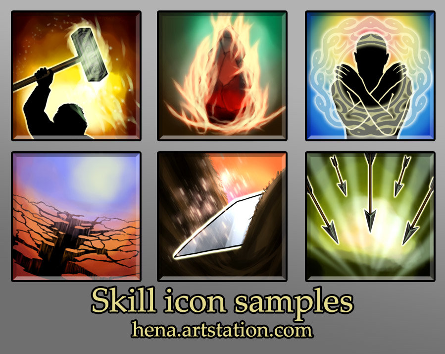 Karin wittig skill icons as