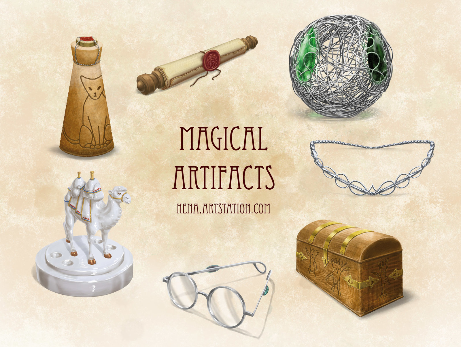 DSA: Magical Artifacts