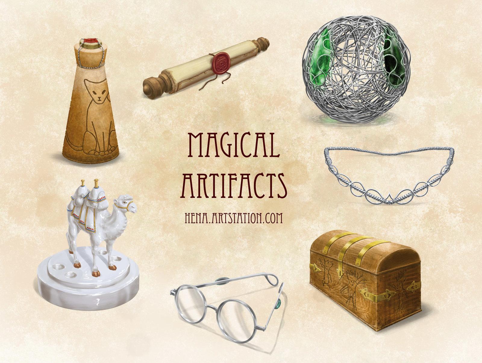 DSA: Magical Artifacts