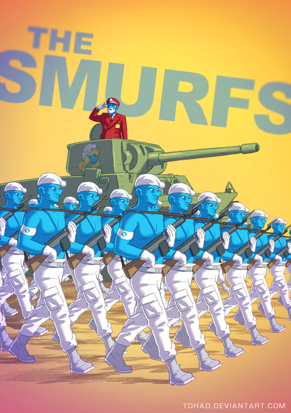 Sylvain sarrailh smurfs
