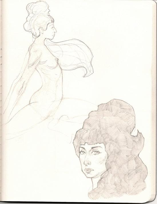 Figure Study Girl 1