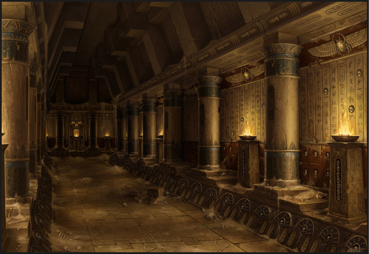 Sven Bybee - Tomb King Hallway
