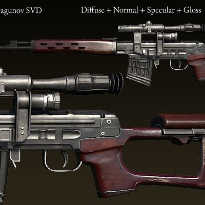 Ryan bullock weapon oc dragunovsvd textured01