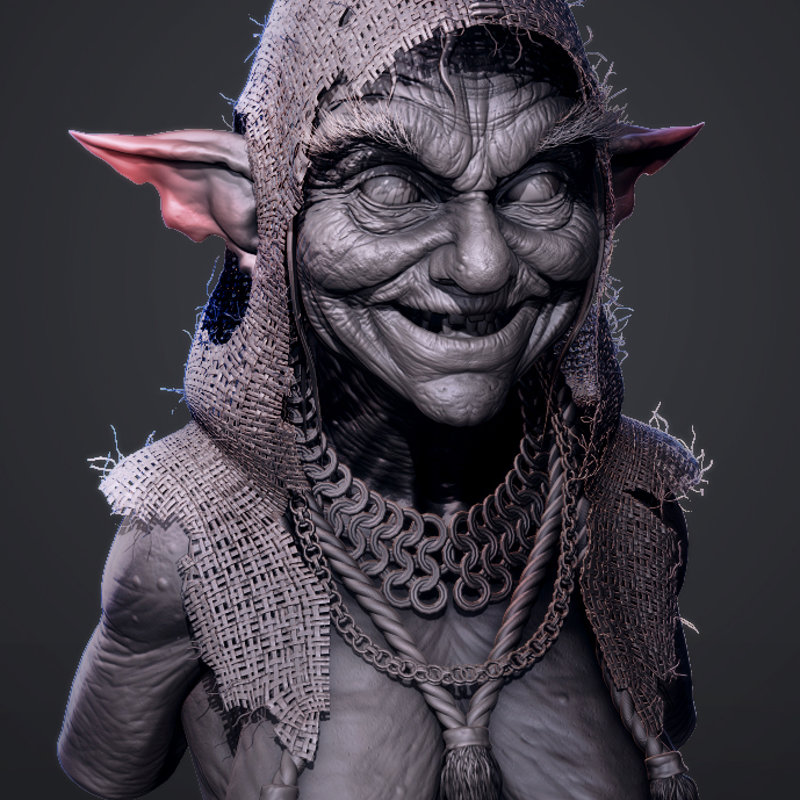 Swamp Witch (Sculpt)