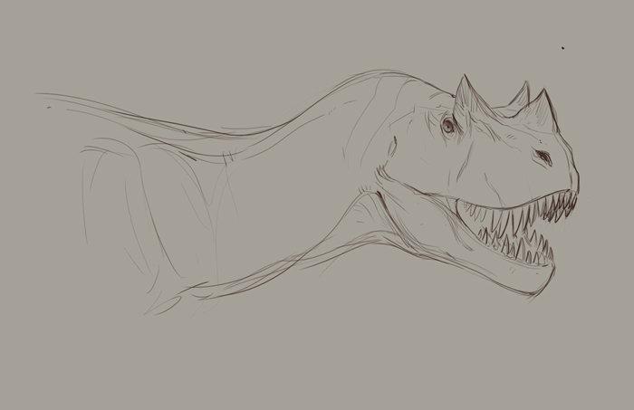 Jonathan kuo ceratosaurus low1