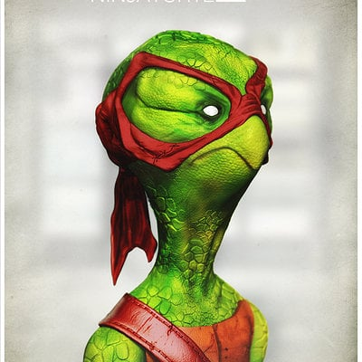 Christiano pires retired ninja turtle 1k