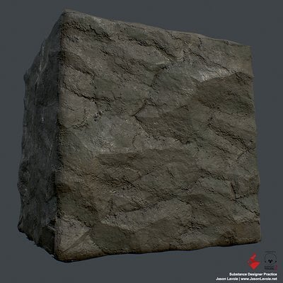 Substance Designer Practice - Stone Wall A