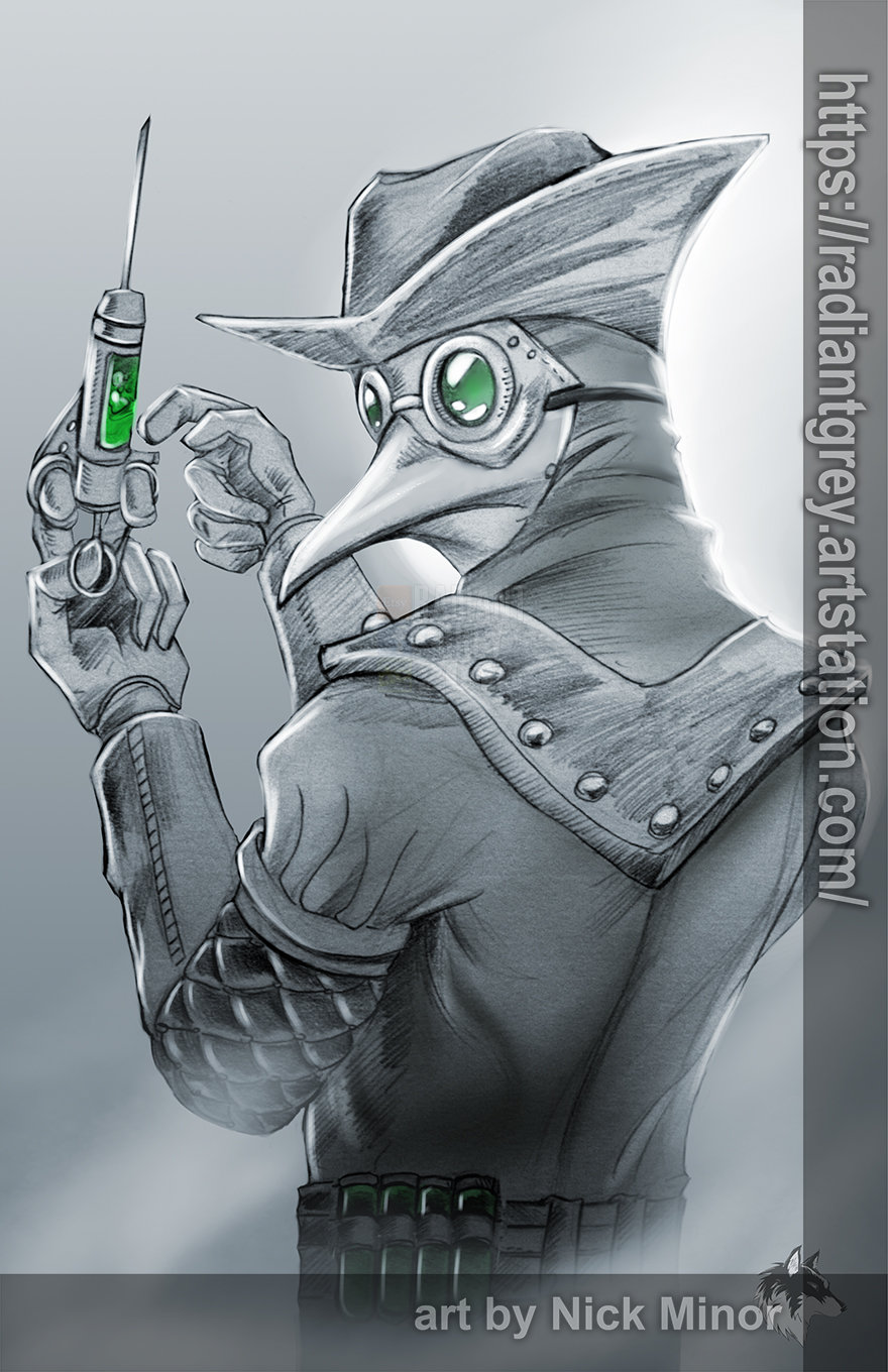 Nick minor plague doctor