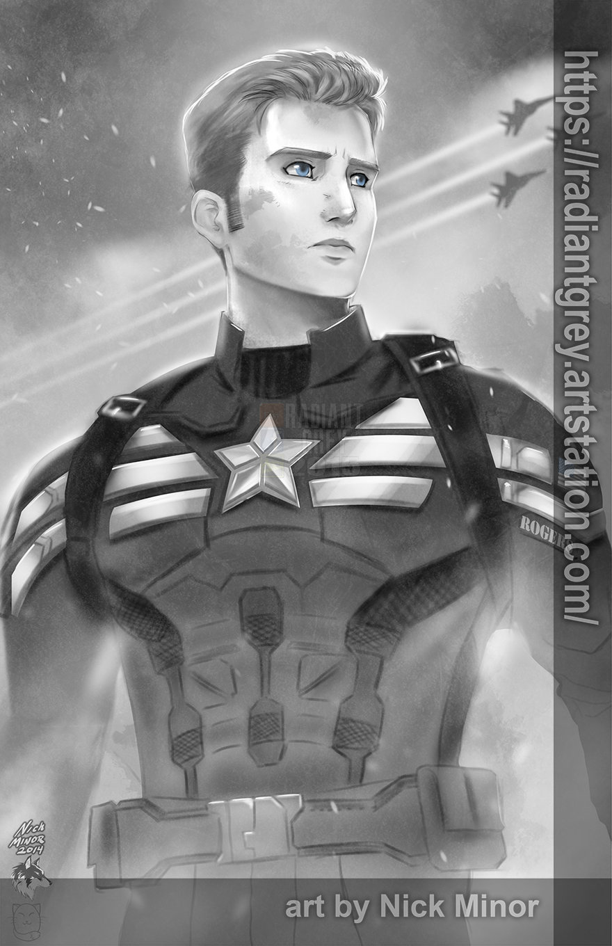Nick minor captain america