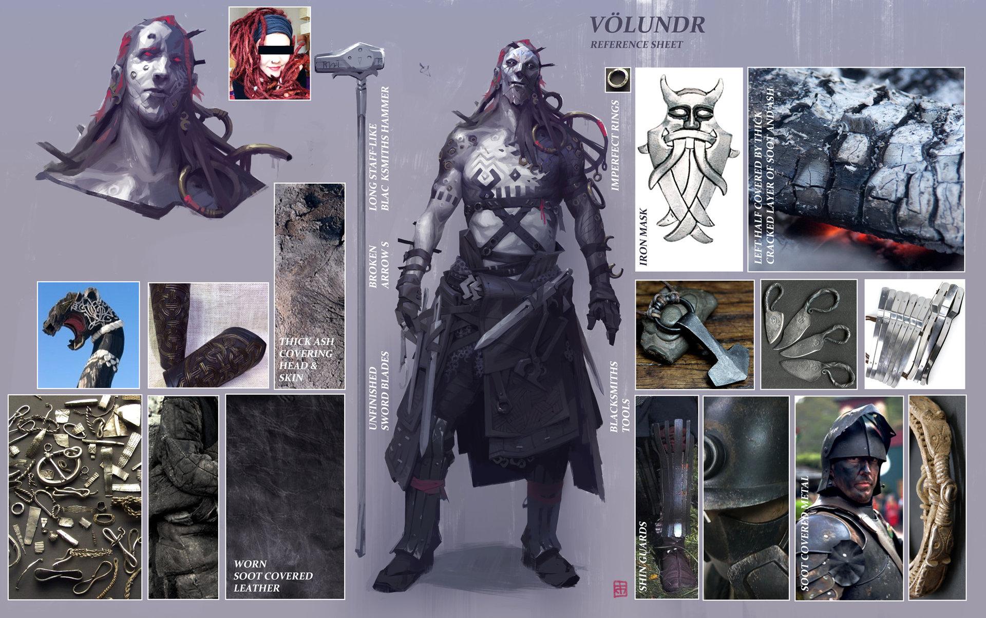 Character Design Unity : Georgi simeonov unity the blacksmith concept art