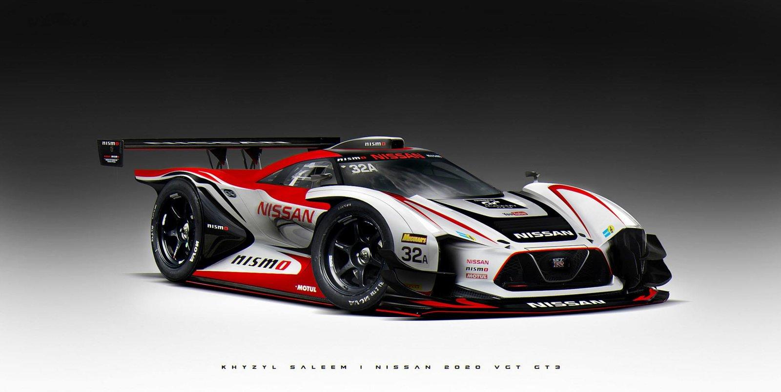 Nissan VGT GT3 Concept