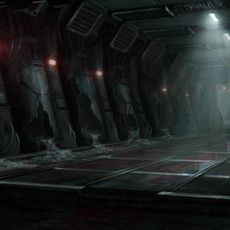 Sci-fi Horror - Main Render
