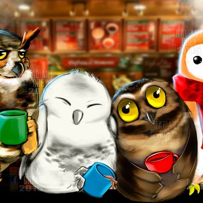Nick minor coffee owls