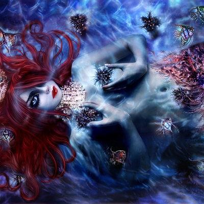 Katarina sokolova latanska blue mermaid