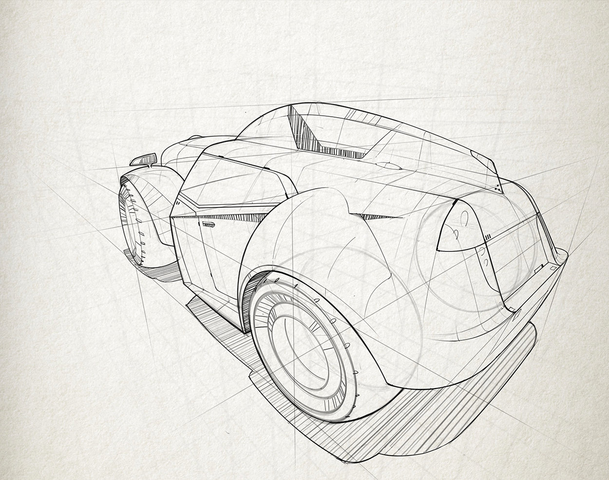 Vehicle Sketch
