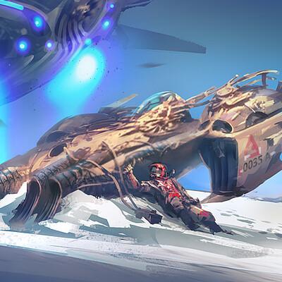 J otto szatmari sci fi02 wreck1400