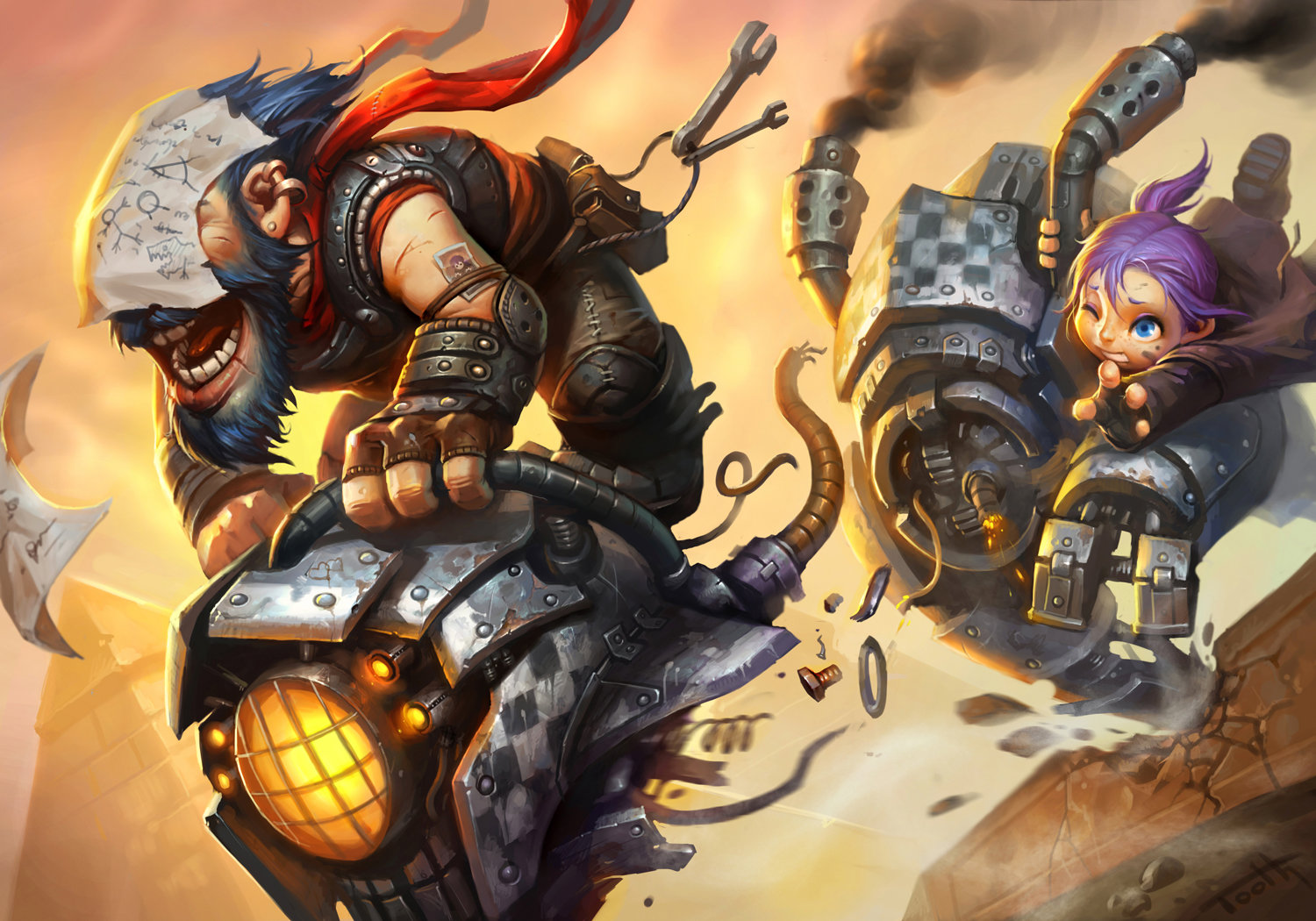 WoW mage vs gnome xxx image