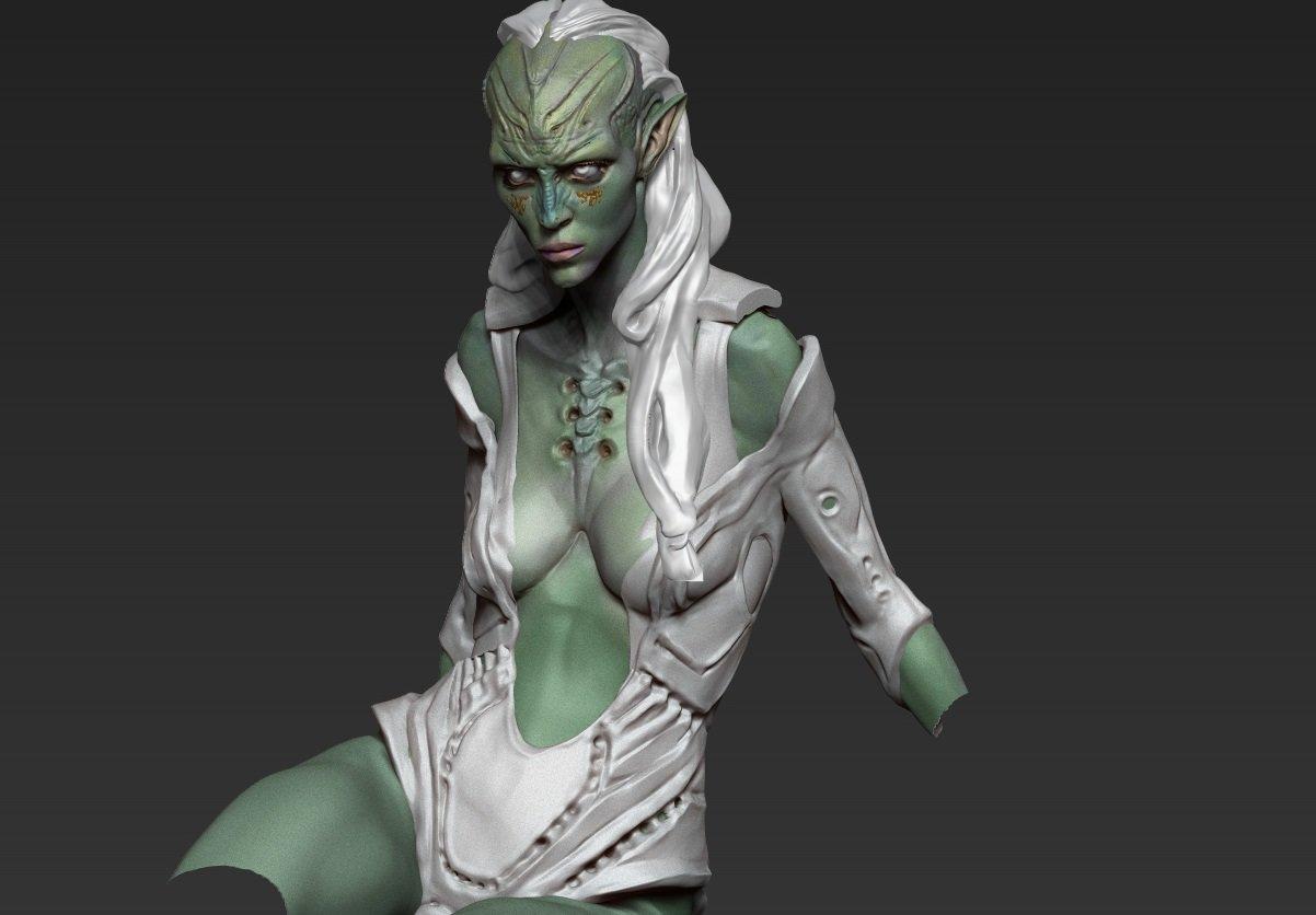 alien art Xxx fantasy