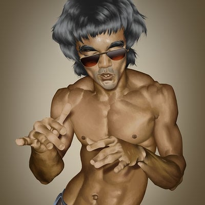 Tony gbeulie bruce lee 1
