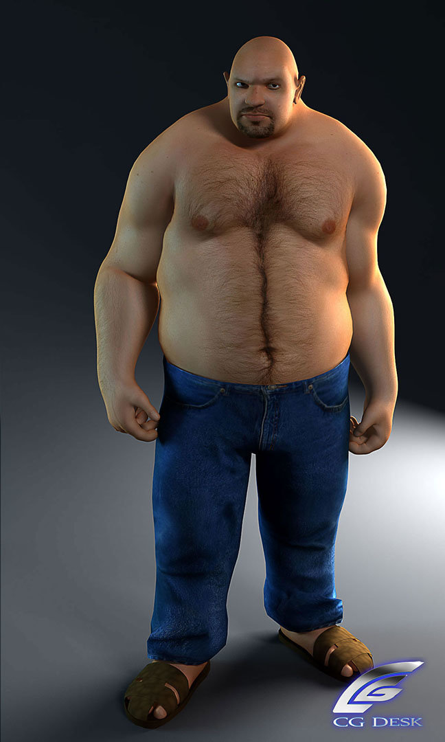 ArtStation - Big fat strong, Sampad Iqbal