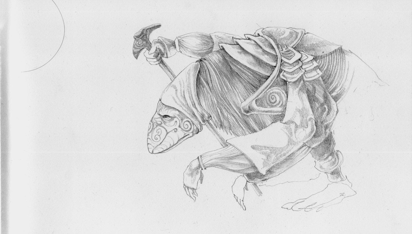 Mystic sketch