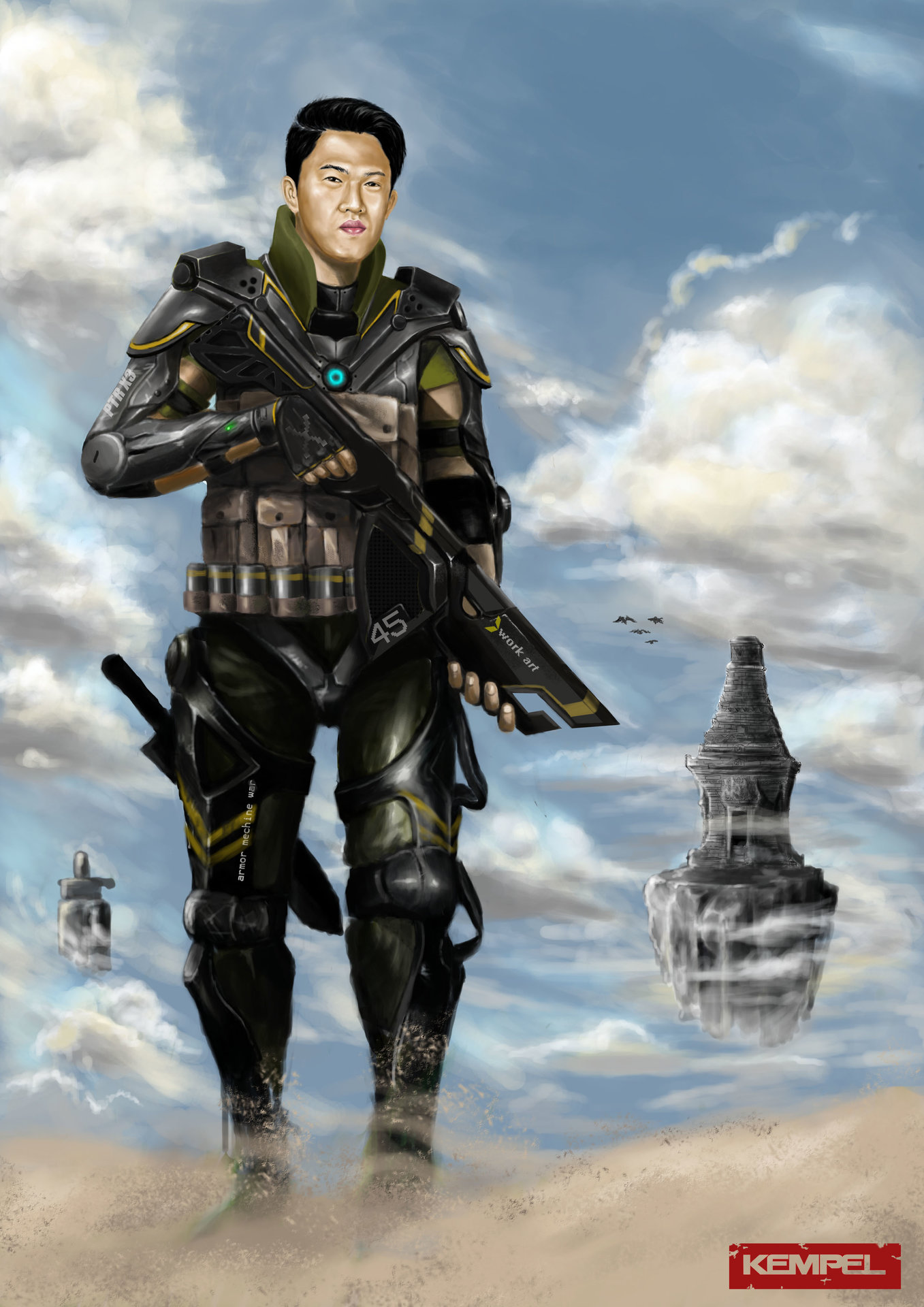 Taufiqurrahman hidayat piter armor