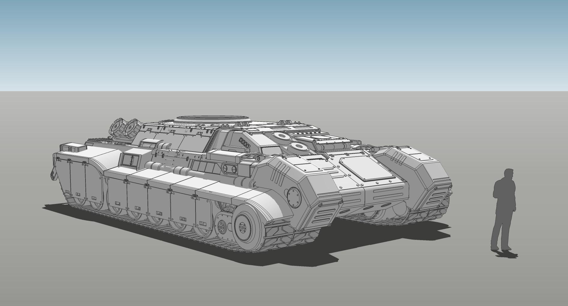 Muyoung kim armor grendal tank concept v6 kr 3