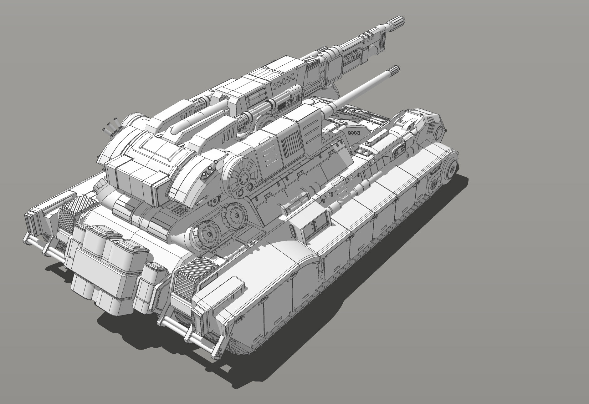 Muyoung kim armor grendal tank concept v6 kr 5