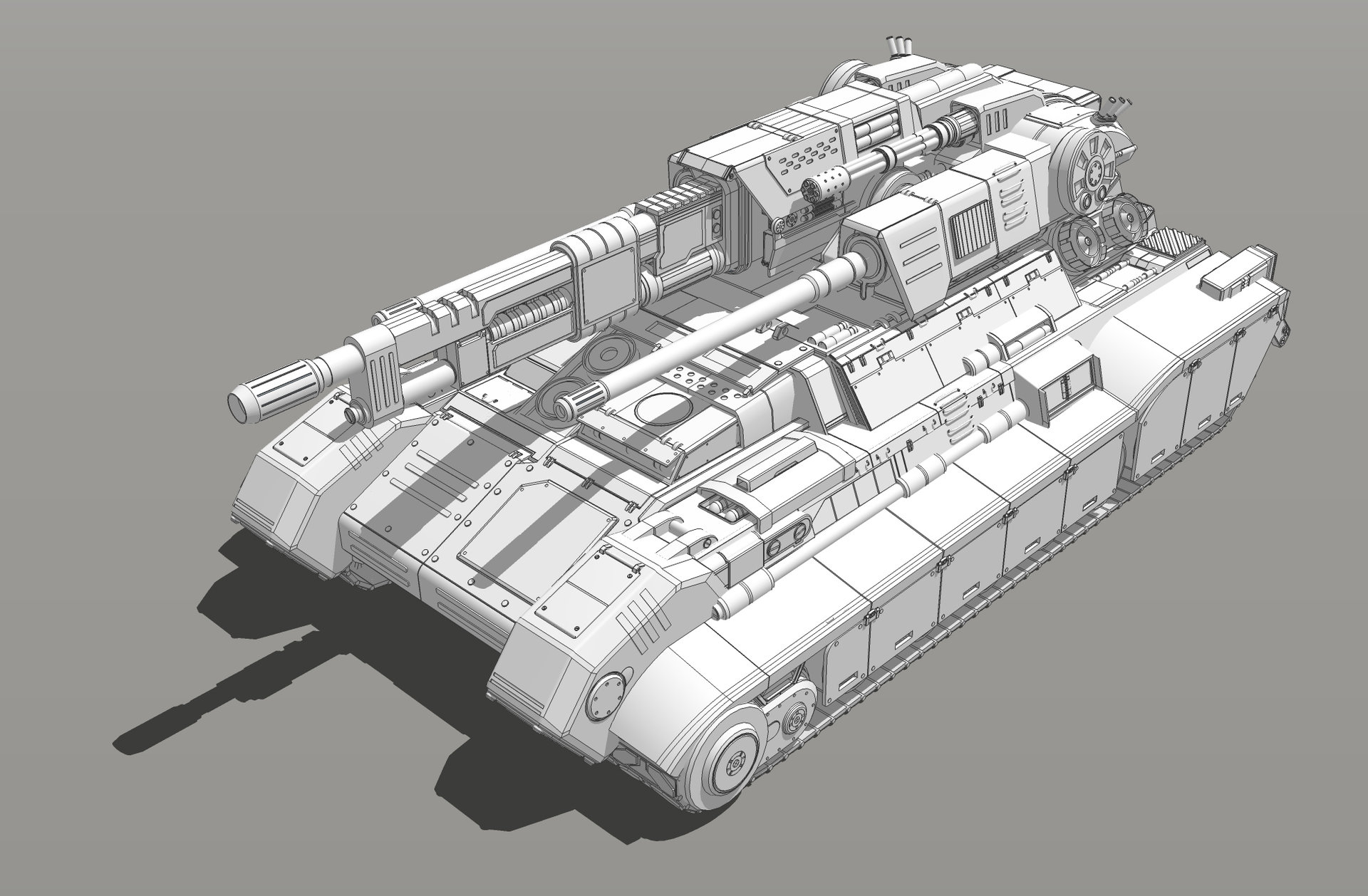 Muyoung kim armor grendal tank concept v6 kr 6