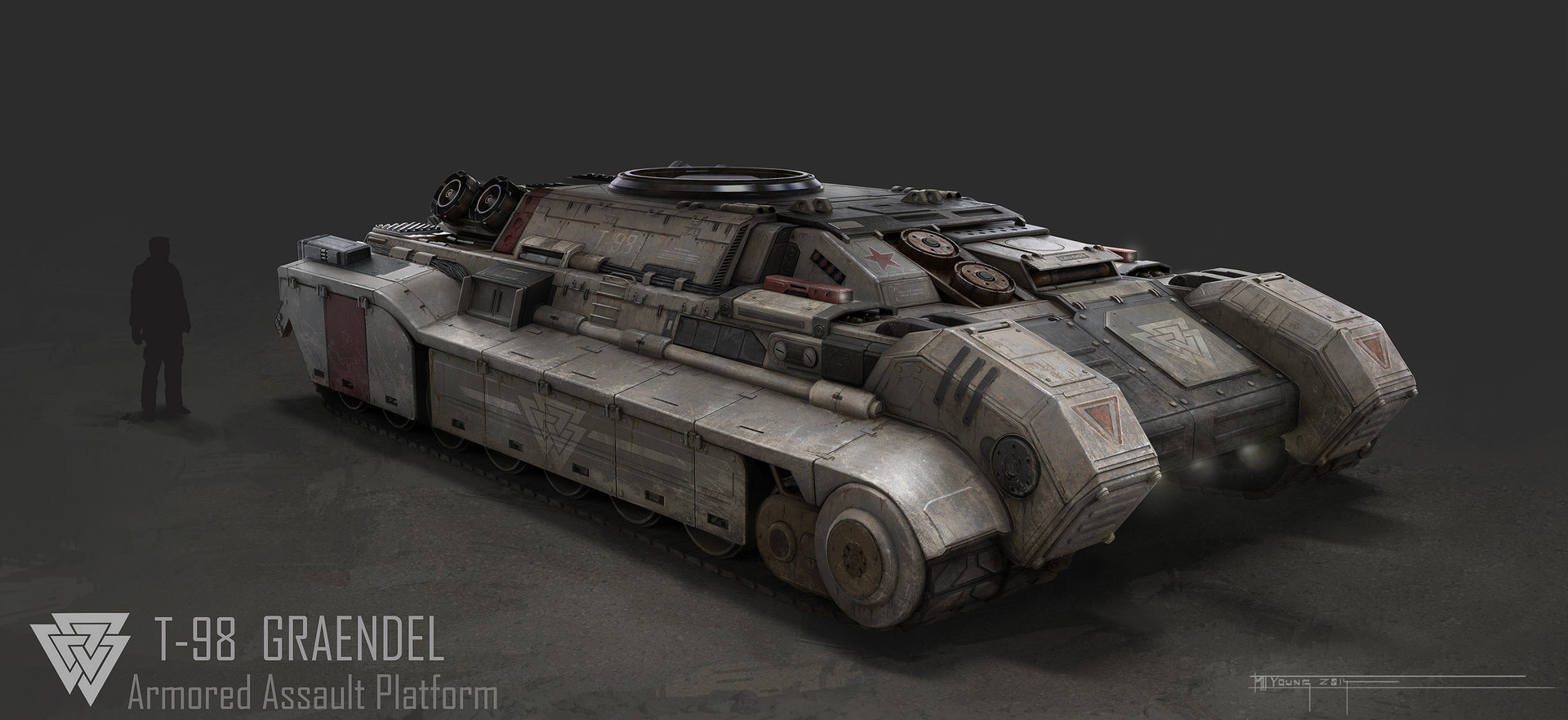 Muyoung kim 3 armor graendal concept front wo turret