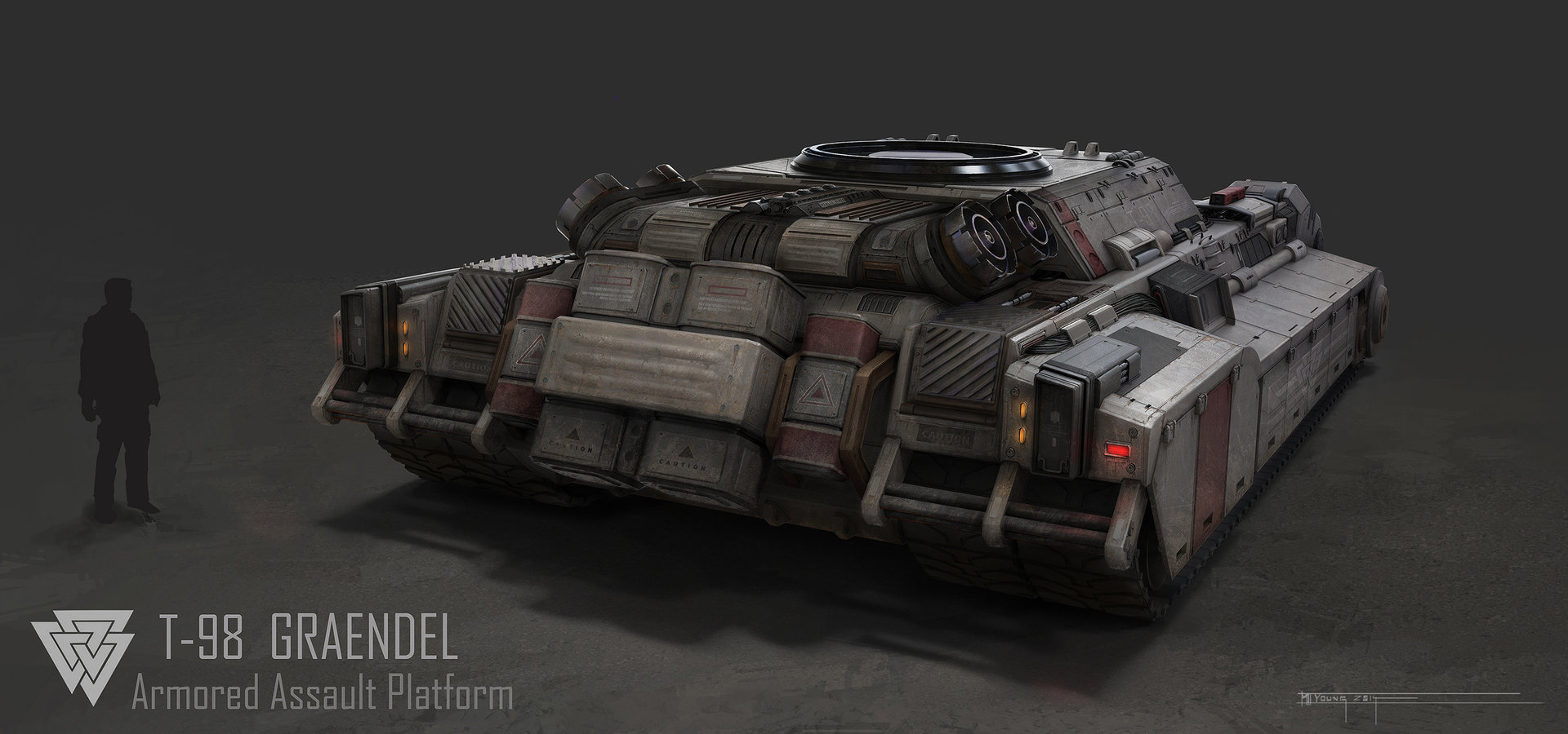 Muyoung kim 6 armor graendal concept back wo turret