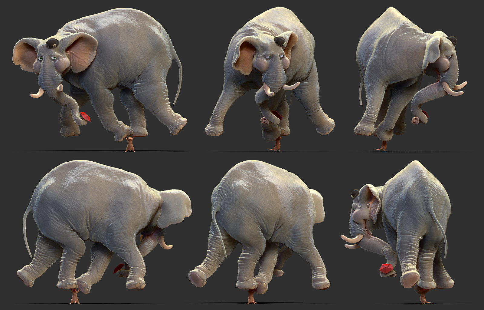 Rudy massar elephant