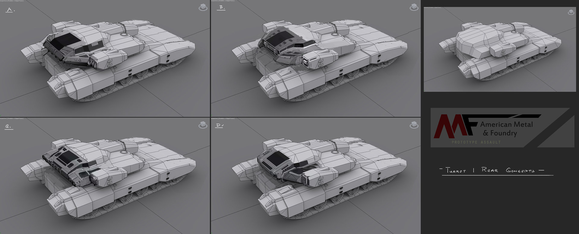 Muyoung kim armor turret 1 rear concept sketches