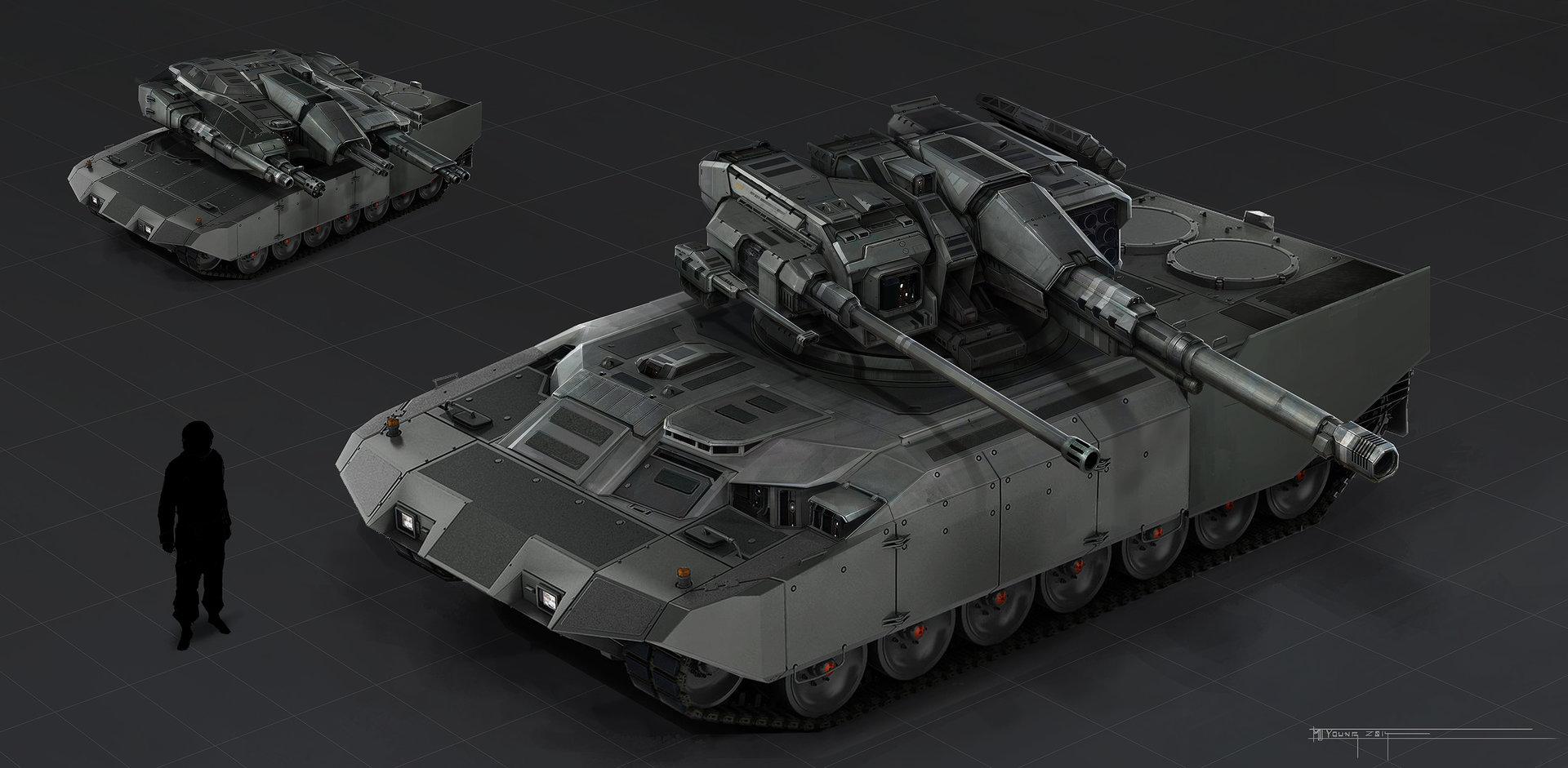 Sentinel Tank Concept
