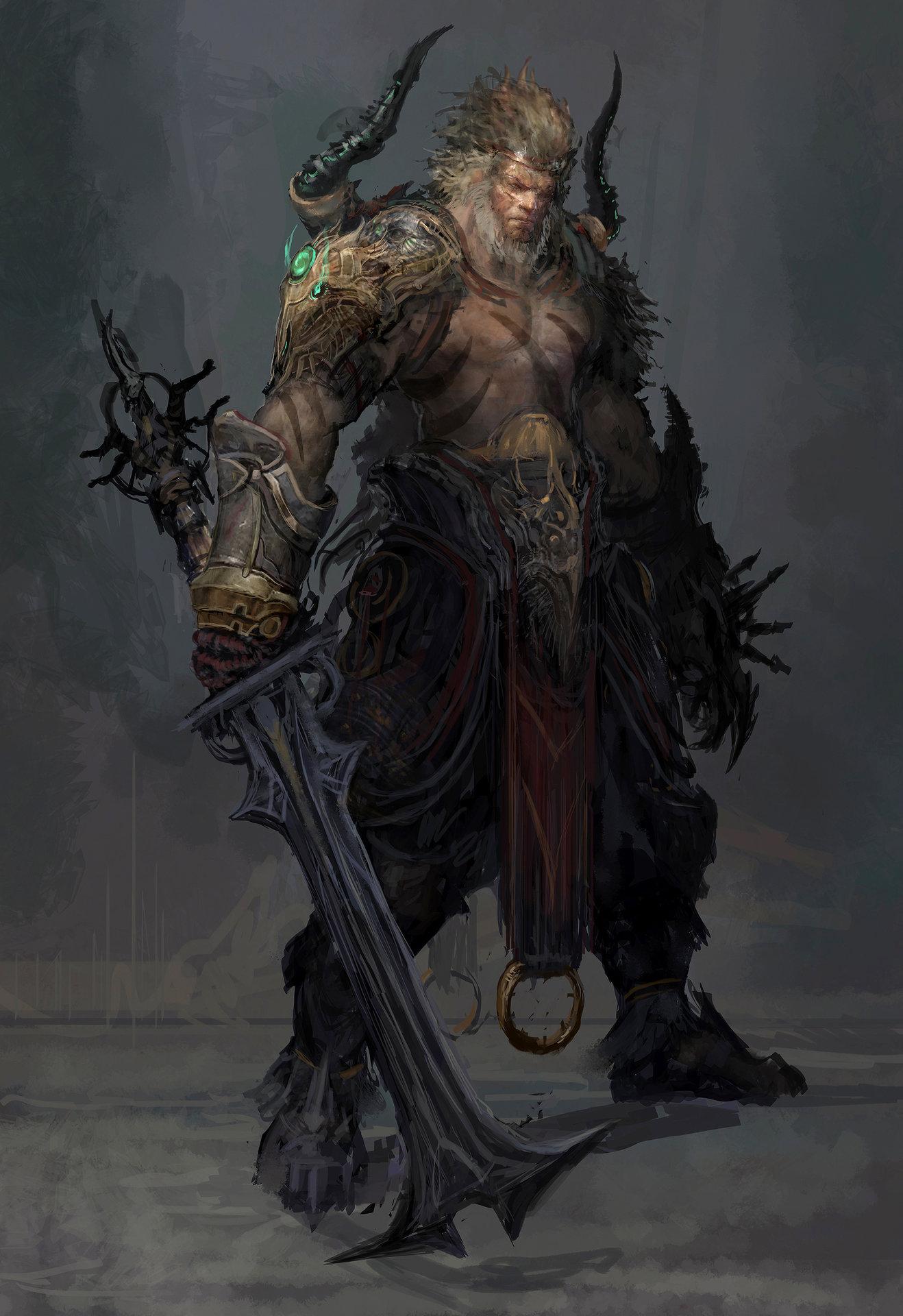 Muyoung kim c di barbarian concept mu version