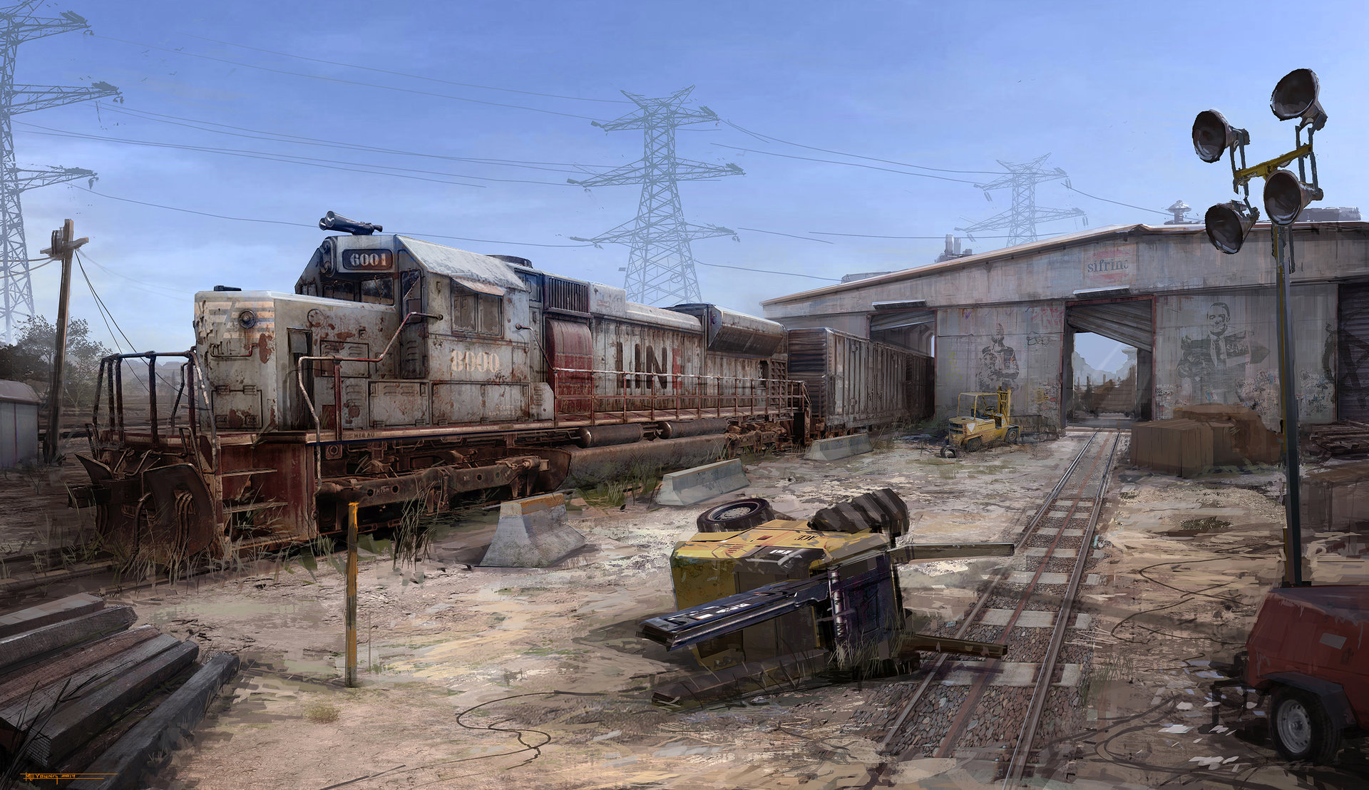 Muyoung kim armor train yard concept