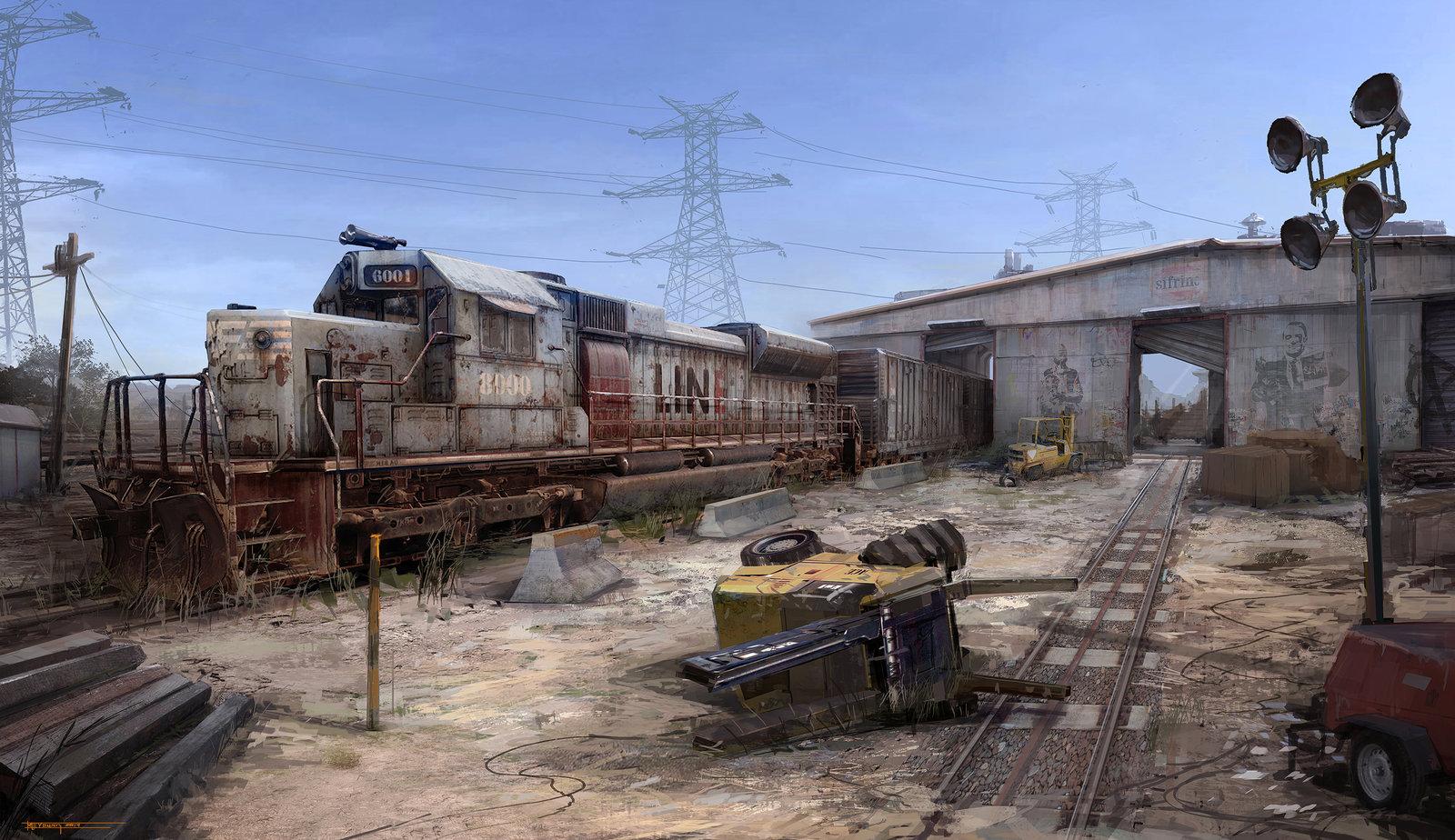 Train Yard Concept