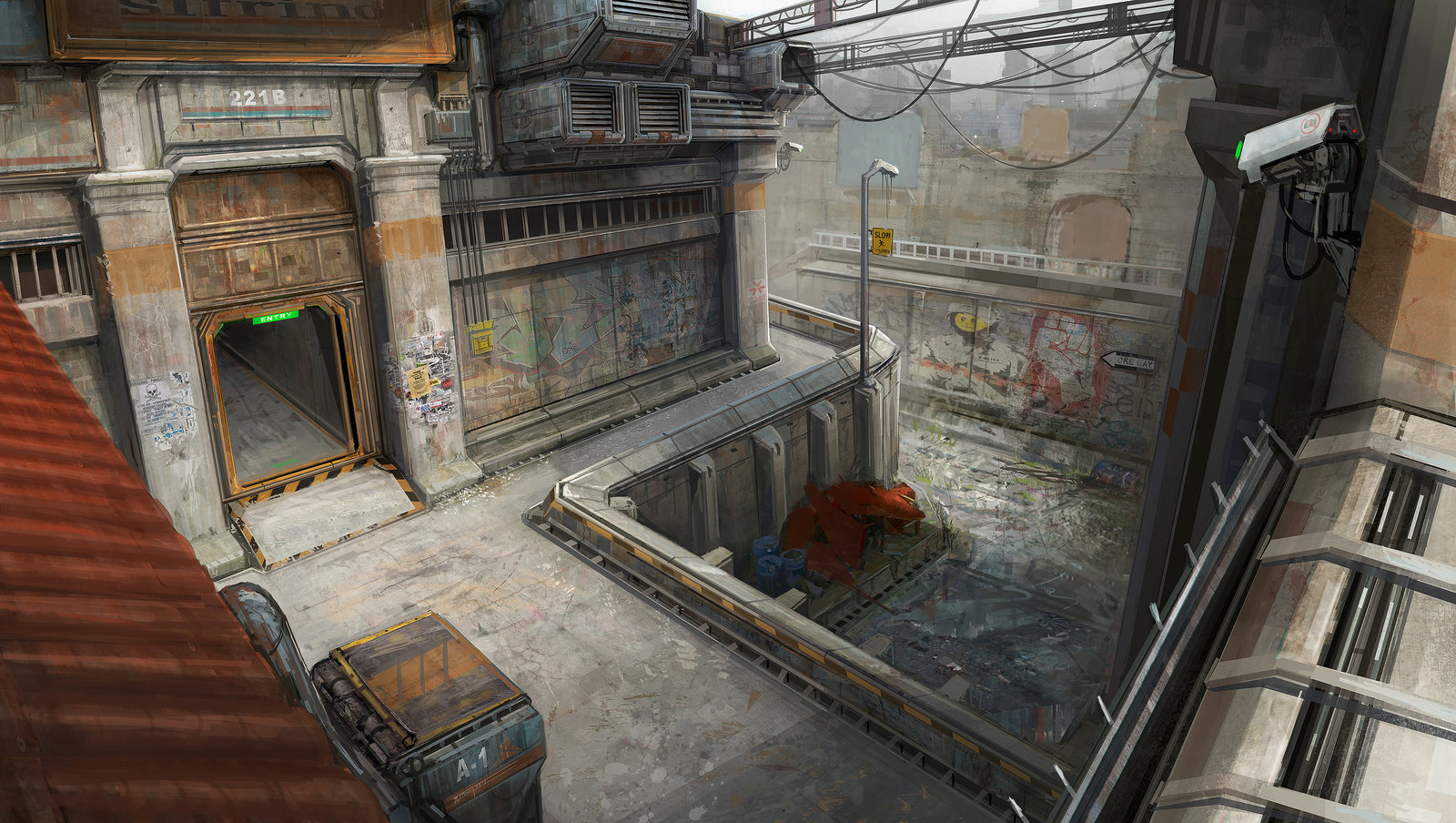 The Slums Level Concept